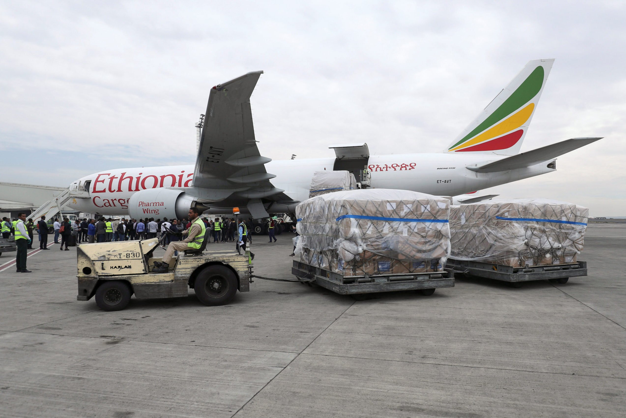 Image result for Nigeria receives COVID-19 test kits from Chinese billionaire Ma